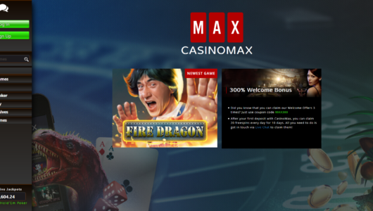 Casino Max Screenshot Lobby