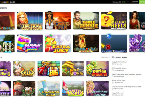 SlotsMillion Casino Screenshot