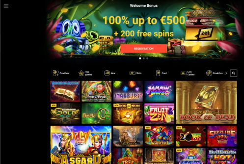 Zet Casino Games Lobby