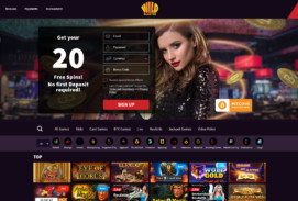 Wildblaster Casino Screenshot