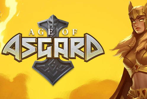 Age of Asgard Slot Logo