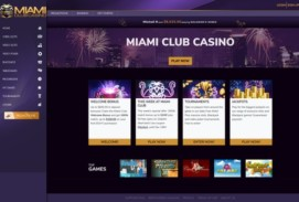 Miami Club Casino Bonuses