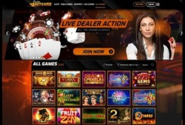 Casino Intense Homepage
