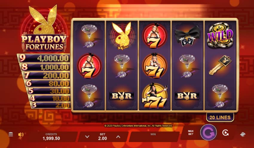 Playboy Fortunes Demo Play