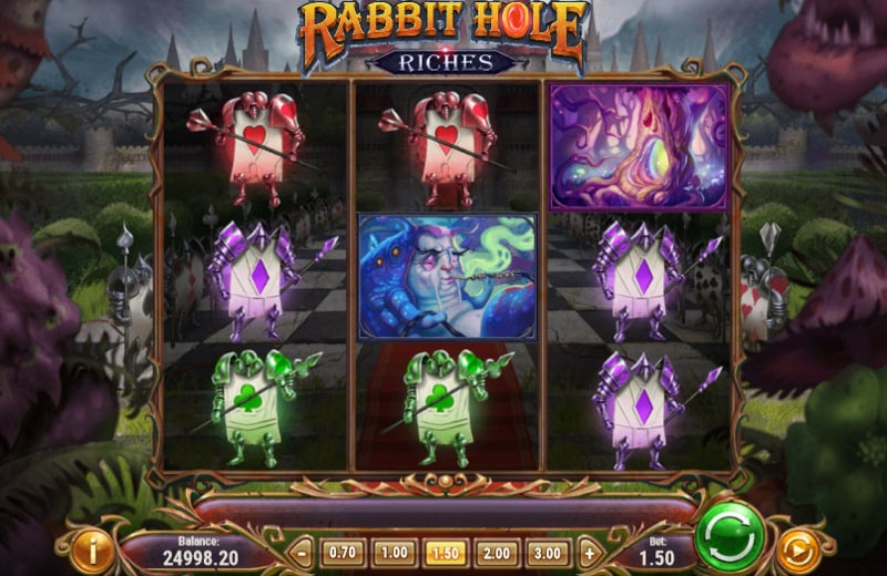 Rabbit Hole Riches Slot by Play'n GO